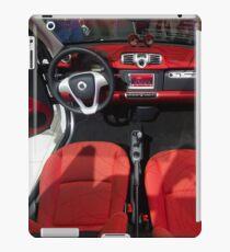 Smart ForTwo Turbo Cabrio Tritop Inside [ Print & iPad / iPod / iPhone Case ] iPad Case/Skin