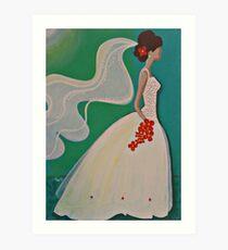 Wedding Promise Art Print