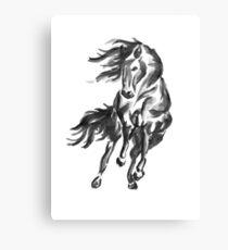 Sumi-e Horse Canvas Print