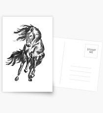 Sumi-e Horse Postcards