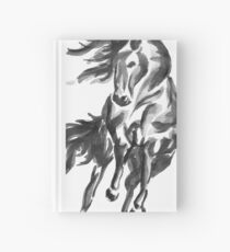 Sumi-e Horse Hardcover Journal