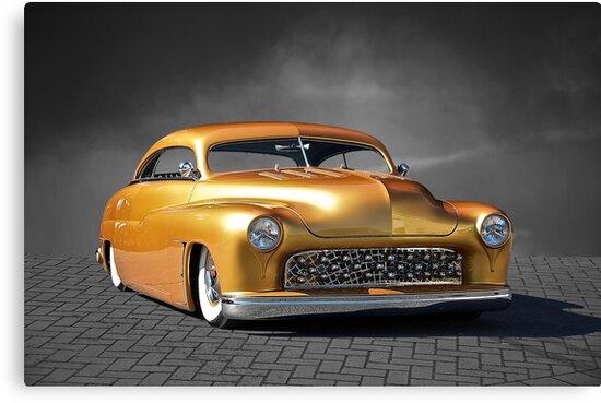 1950 Mercury Custom on B/W by DaveKoontz