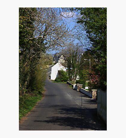 Irish country road Photographic Print