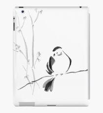 Sumi-e Bird iPad Case/Skin