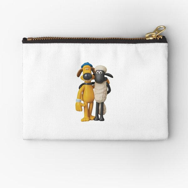 Shaun and Bitzer Zipper Pouch
