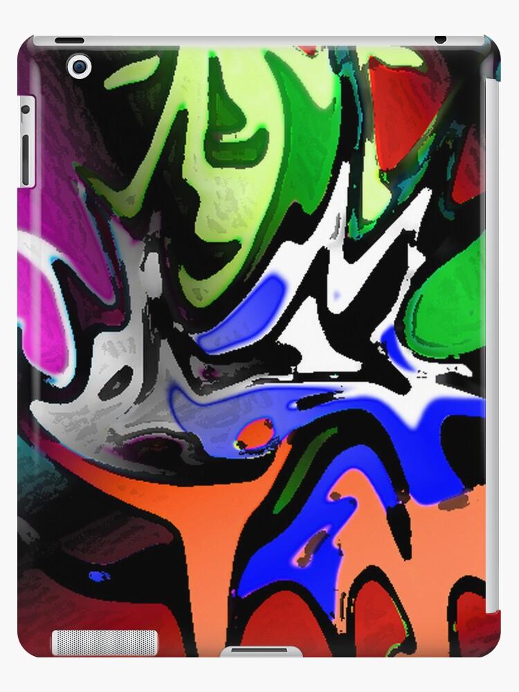 Faces iPad case by sarnia2