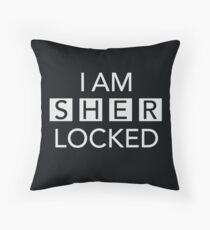 Sherlocked Throw Pillow