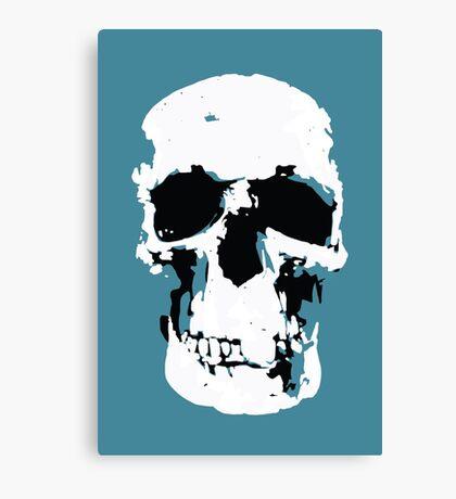 Sherlock Skull Wall Hanging Canvas Print