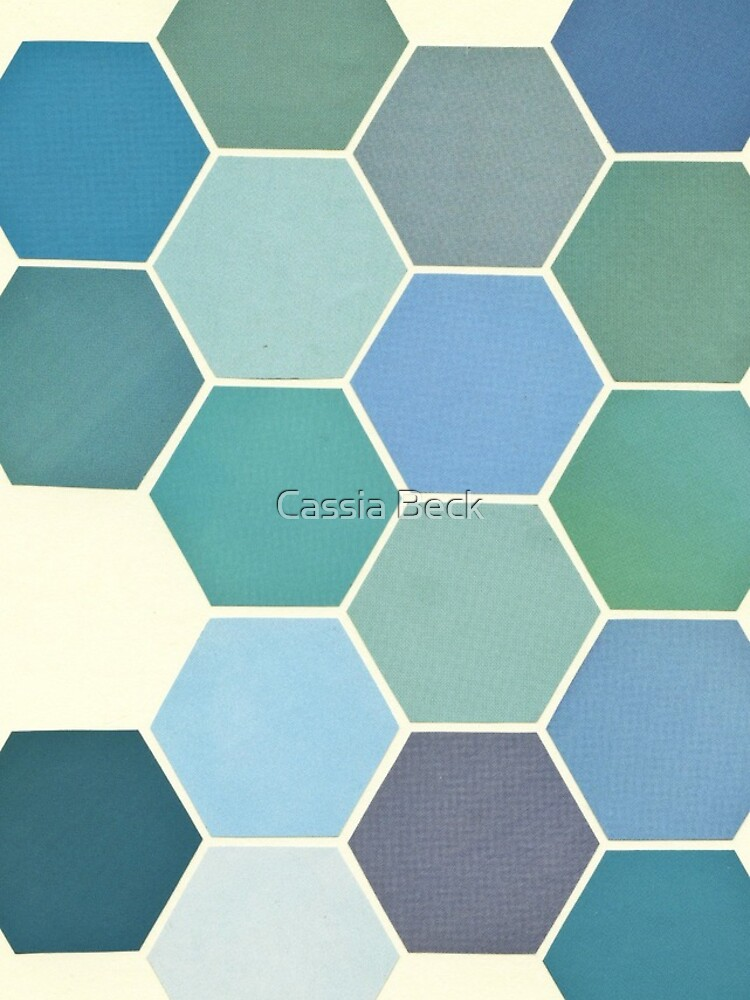 Shades of Blue by Cassia