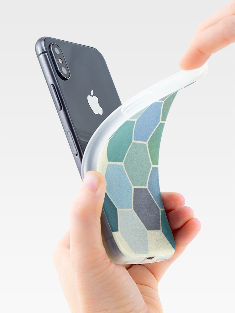 Alternate view of Shades of Blue iPhone Case & Cover