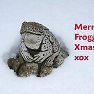Merry Frogging Xmas! by shortarcasart