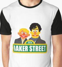 221B Baker Street - Sherlock Graphic T-Shirt