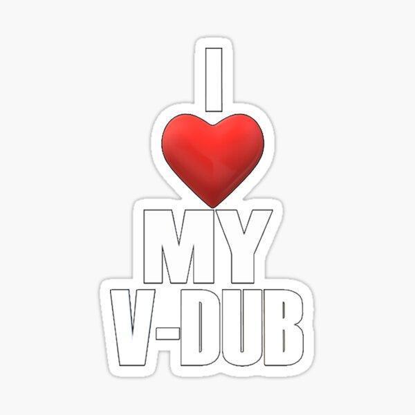 I LOVE My VDUB  Sticker