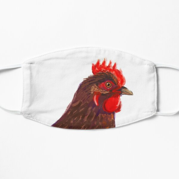 Hen red (right) Mask