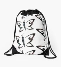 Until Dawn Character Butterfly Drawstring Bag