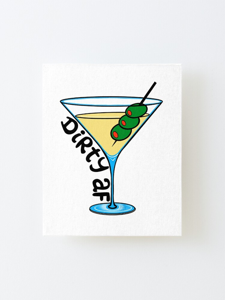 Alternate view of Dirty Martini Mounted Print