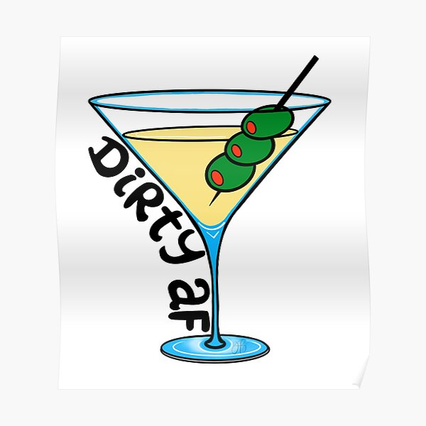 Dirty Martini Poster