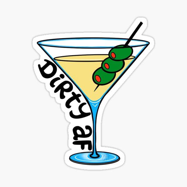 Dirty Martini Sticker