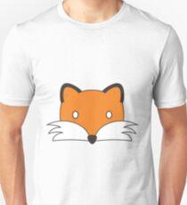 Fox Face (colour) Unisex T-Shirt
