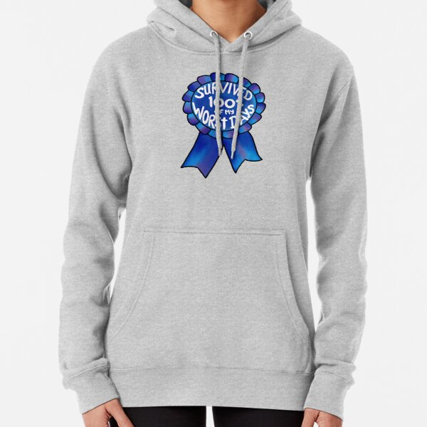 Survived 100% of My Worst Days Pullover Hoodie