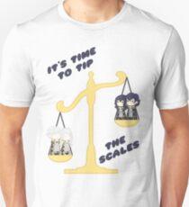 Derp Emblem: Tip the Scales Shirt Unisex T-Shirt