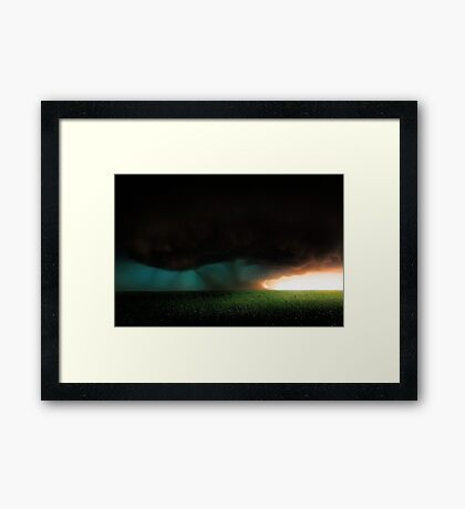 Stormy Sunrise  Framed Print