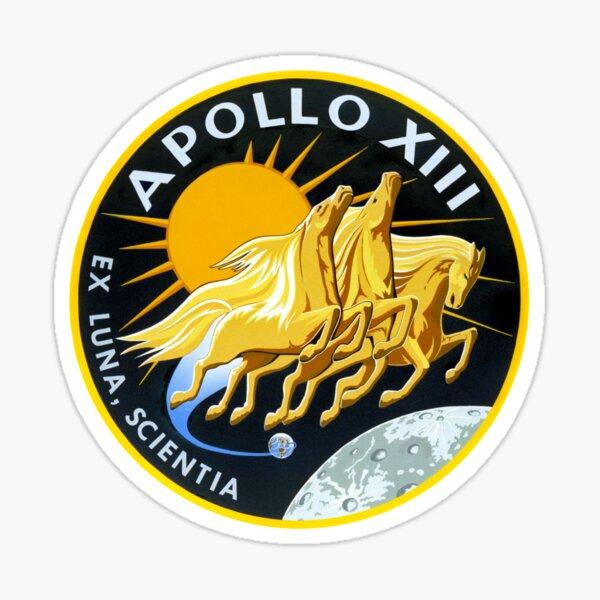 Apollo 13 Mission Logo Sticker