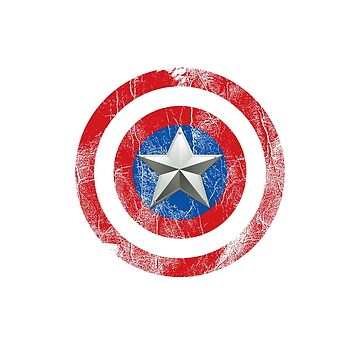 Cap America Shield with star by Markmaw