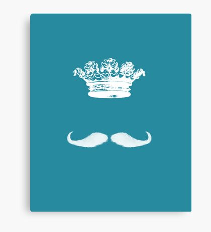 King Moustache I Canvas Print