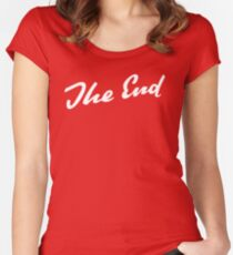 Sherlock Elementary - The End Women's Fitted Scoop T-Shirt