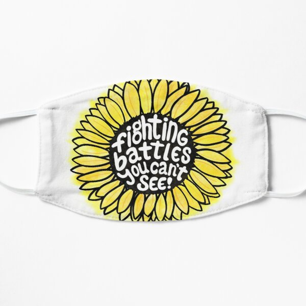 Sunflower - Fighting Battles You Can't See Flat Mask