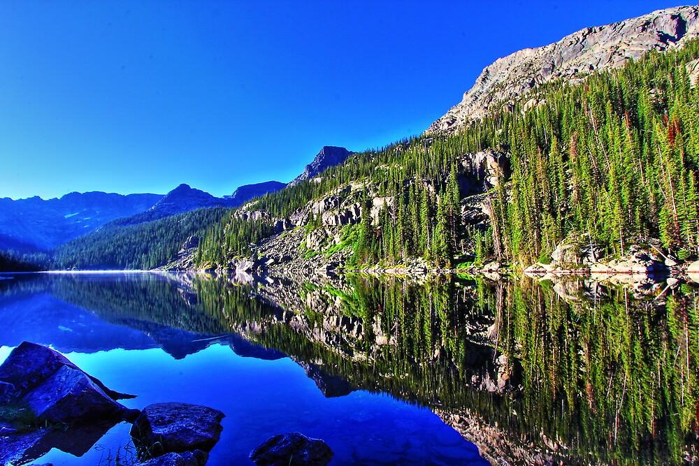 Lake Verna Sunrise Colorado by andersonjohnm