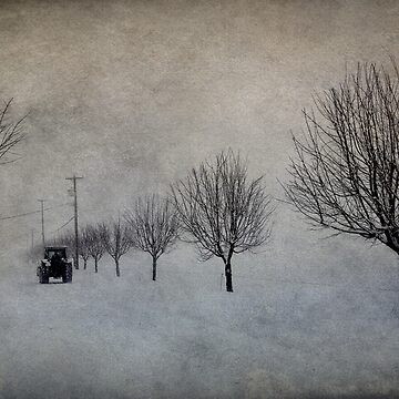 Winter's Work by ajlphotography