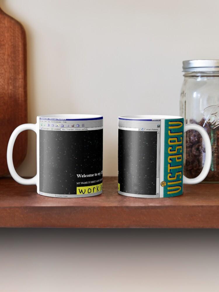 Alternate view of kirby on Vistaserv.net Mug