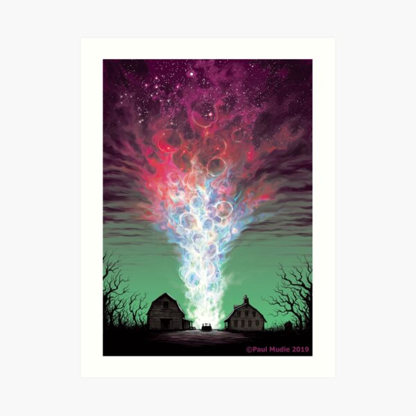 The Colour Out of Space - Colour Variant 3 Art Print