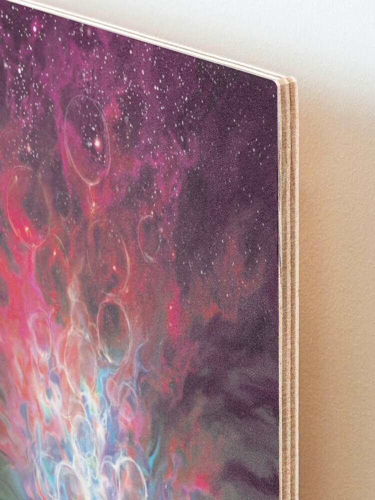 Alternate view of The Colour Out of Space - Colour Variant 3 Mounted Print