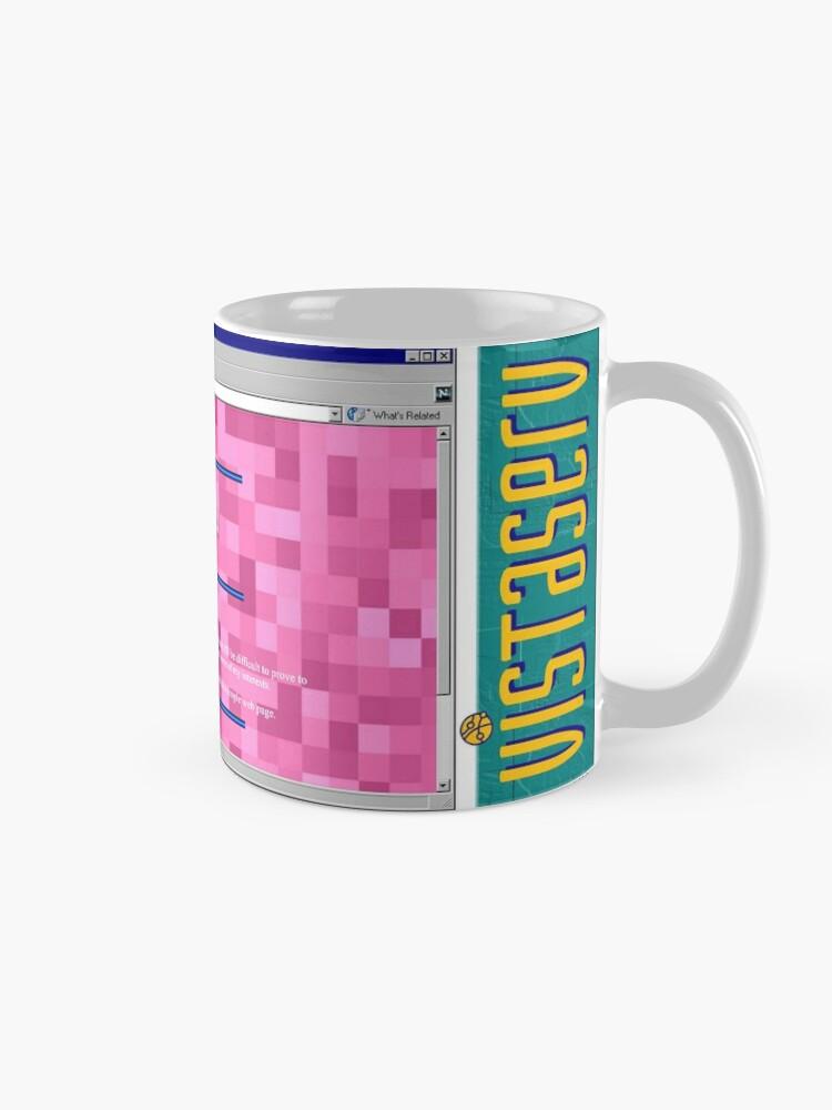Alternate view of junkbox on Vistaserv.net Mug