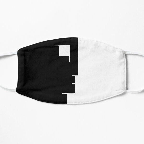 Bauhaus Square Face Flat Mask