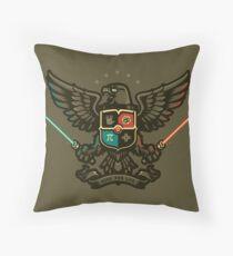 Geek For Life - POSTER Throw Pillow