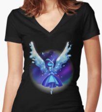 Lapislazuli - Steven Universum Shirt mit V-Ausschnitt