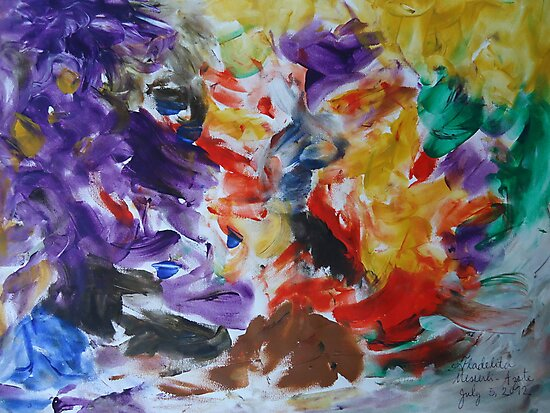Abstract painting.... by fladelita
