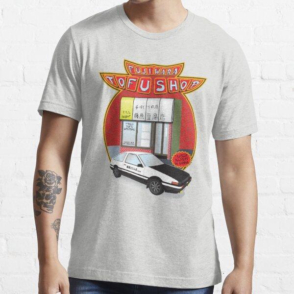 Initial D- Fujiwara Tofu Shop Essential T-Shirt