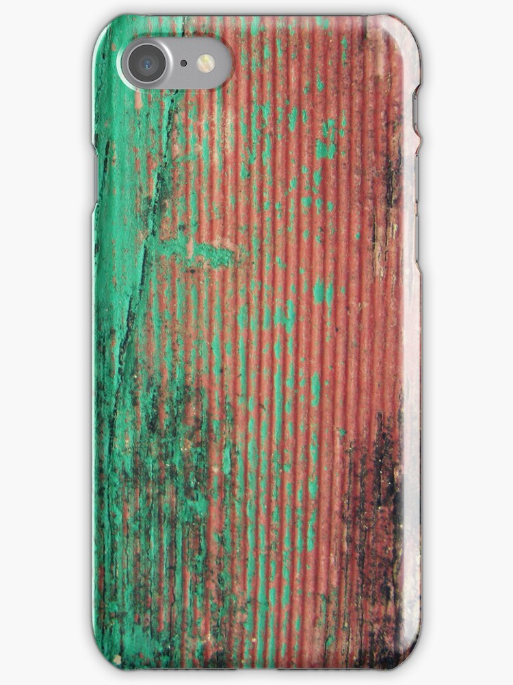 Turquoise + Apricots iphone/ipod case by Vanessa Barklay