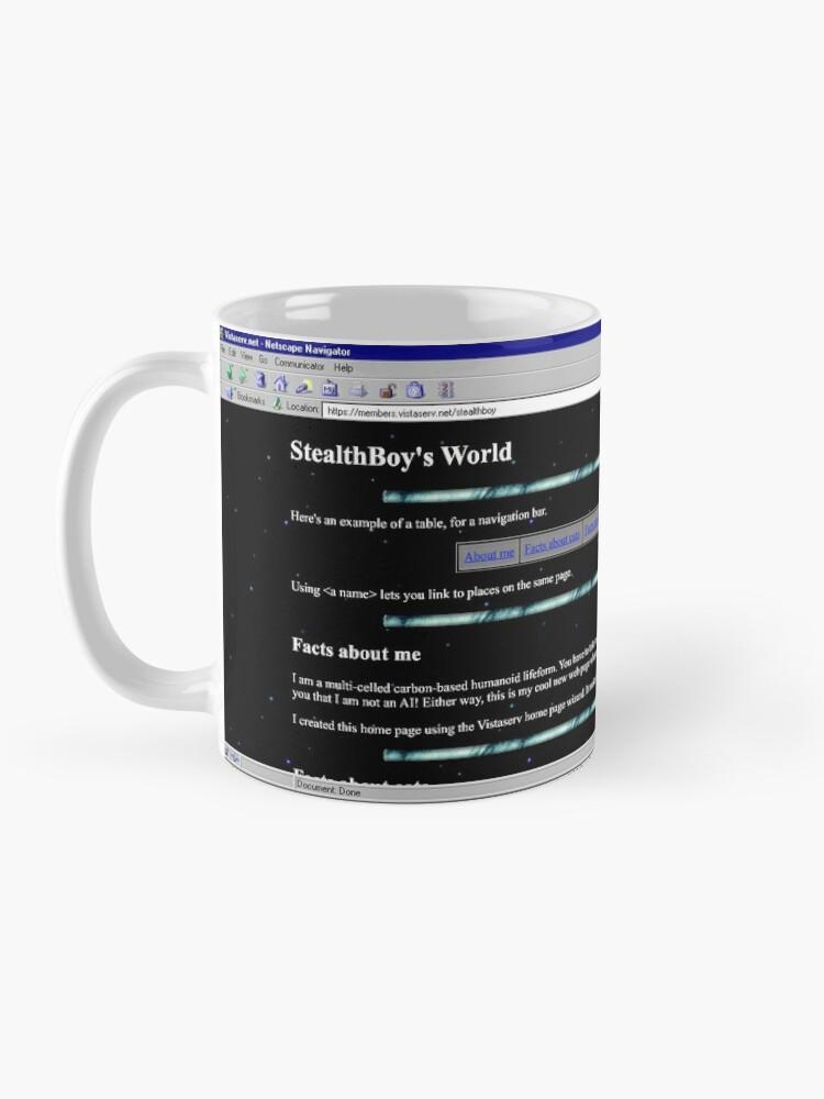 Alternate view of stealthboy on Vistaserv.net Mug