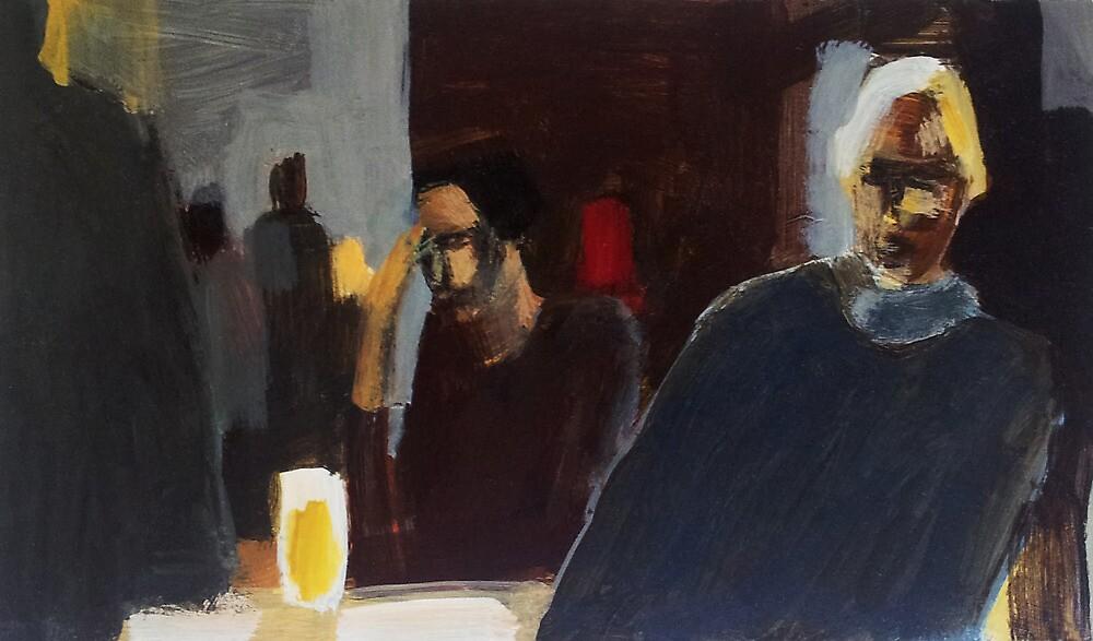 Late night by Rebecca Landmér