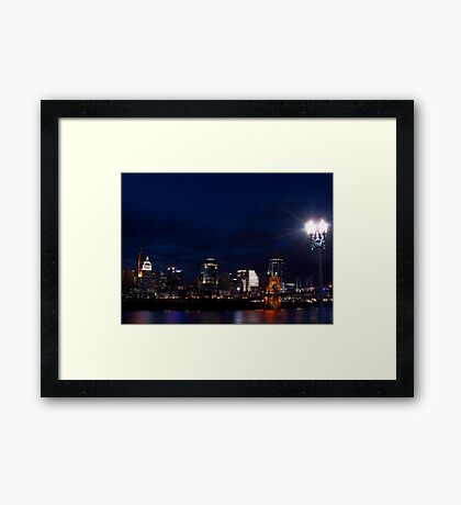 Cincinnati Skyline 3 Framed Print