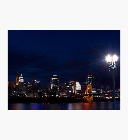 Cincinnati Skyline 3 Photographic Print