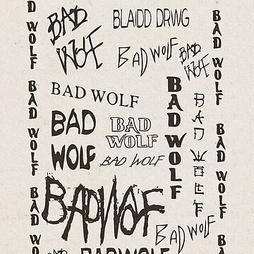 Bad Wolf by BlameItOnJerry