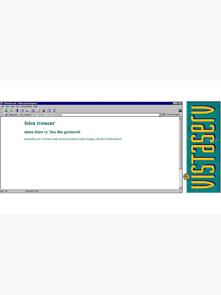 tremeur on Vistaserv.net by vistaserv