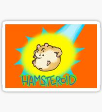 Hamsteroid Sticker